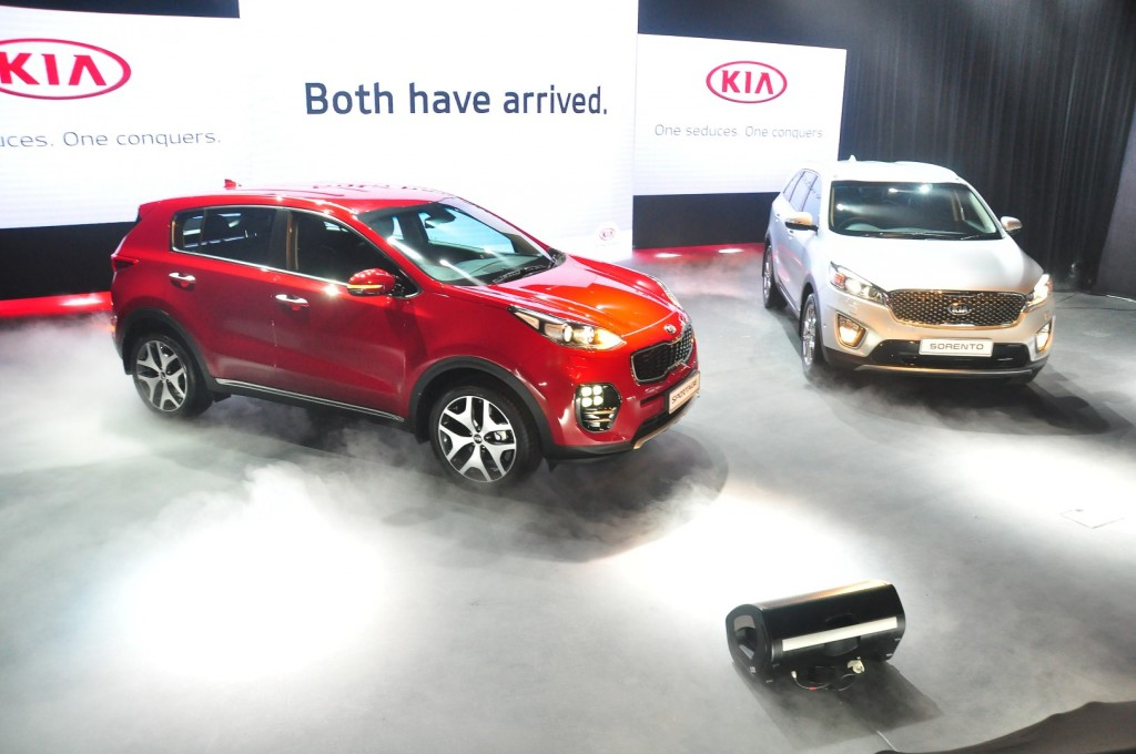 New 7-seat Kia Sorento and 5-seat Sportage launched