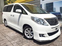 Toyota Alphard 3.5 Gl Edi 4 Cam
