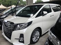 Toyota Alphard 2.5 Sa S/R P/B