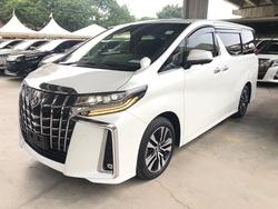 Toyota Alphard 2.5 Sc New Facelift