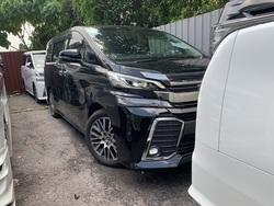Toyota Vellfire 2.5 Zg Pilot Seats