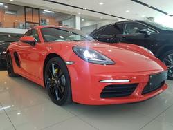 Porsche Cayman 718 2.0 2017