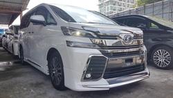 Toyota Vellfire Zag Zg 3.5 2016