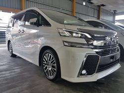 Toyota Vellfire Zg 2.5 2017