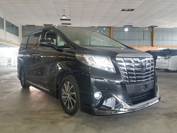 Toyota Alphard Executive 3.5 2017