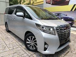 Toyota Alphard 2.5G Edition