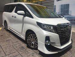Toyota Alphard 2.5 Sc Edi 4 Cam