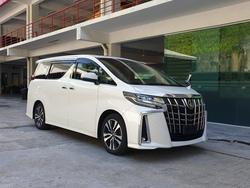 Toyota Alphard 2.5 Sc Nfl