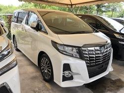 Toyota Alphard 2.5 Sc Jbl