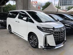 Toyota Alphard 2.5 Sc 3 Led