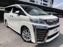 Toyota Vellfire 2.5Z Edi Pre Crash