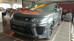Land Rover Range Rover Sport 5.0 Svr Carbon