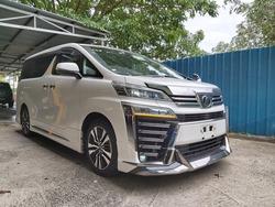 Toyota Vellfire Zg 2.5 2018