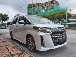 Toyota Alphard Sc 2.5 2019