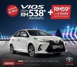 Toyota Vios 1.5 (A) New Facelift