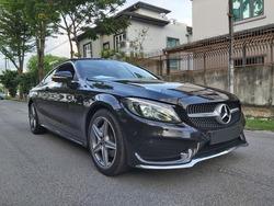Mercedes-Benz C-Class C200 Coupe AMG