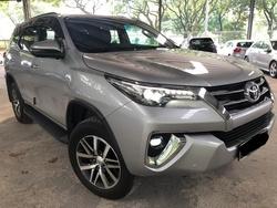 Toyota Fortuner 2.4 Diesel Full Spec