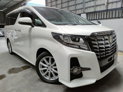 Toyota Alphard 2.5 Sa Type Black