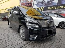 Toyota Vellfire 2.4 Z Platinum
