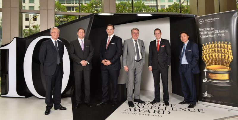 Mercedes-Benz Malaysia hosts service excellence awards   CarSifu