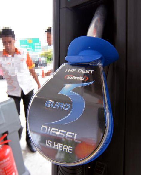Seven Bhpetrol Stations Selling Euro5 Diesel Carsifu