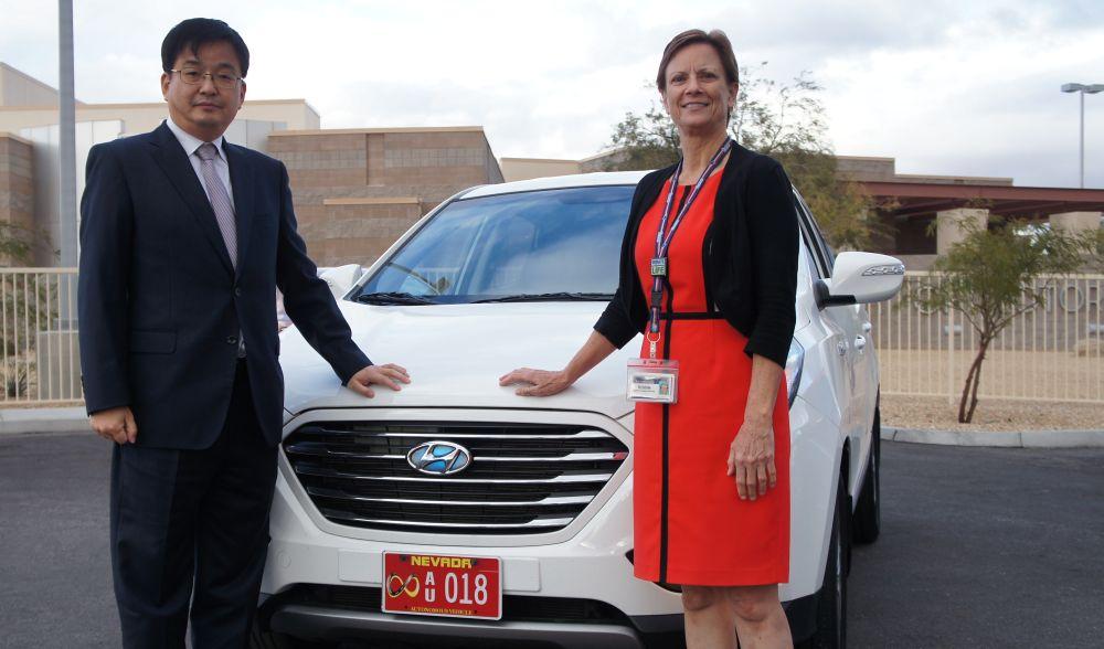 Hyundai first car maker to test a fully-autonomous hydrogen