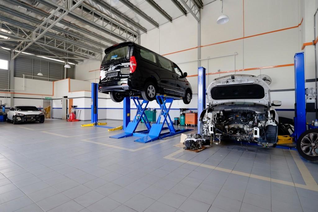 Hyundai 2S GDSI Malacca - 05 Service Bay