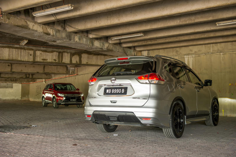 Nissan X-Trail vs Mitsubishi Outlander | CarSifu