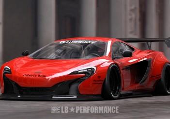 Liberty Walk Performance McLaren 650S - 01