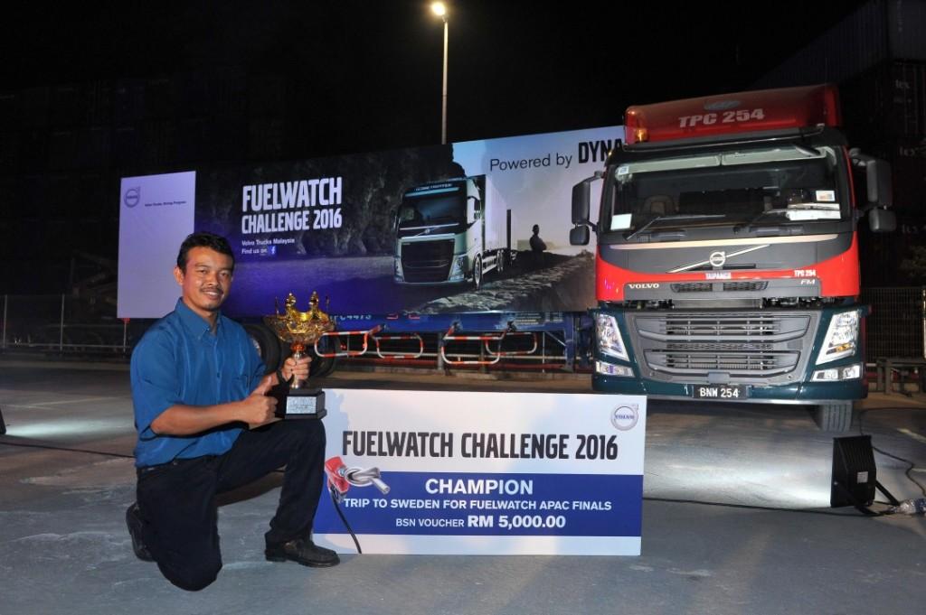 New Malaysian Champion In Volvo Trucks Fuel Challenge Carsifu