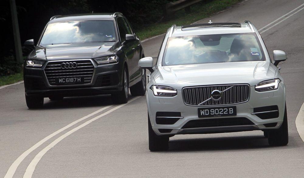 Hybrid Vs Non Hybrid Volvo Xc90 Vs Audi Q7 Carsifu
