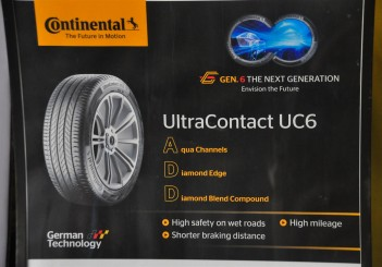 First impressions of Continental's new CC6 and UC6 tyres