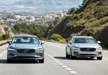 New Volvo S90 & V90 location driving