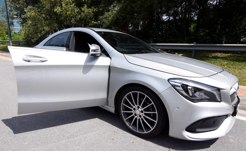 Mercedes-Benz CLA 200 coupe (2)