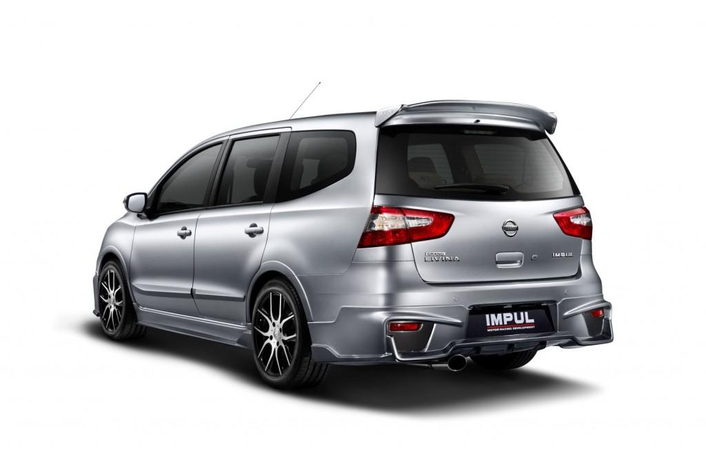 Nissan Grand Livina Gets New Impul Kit Carsifu