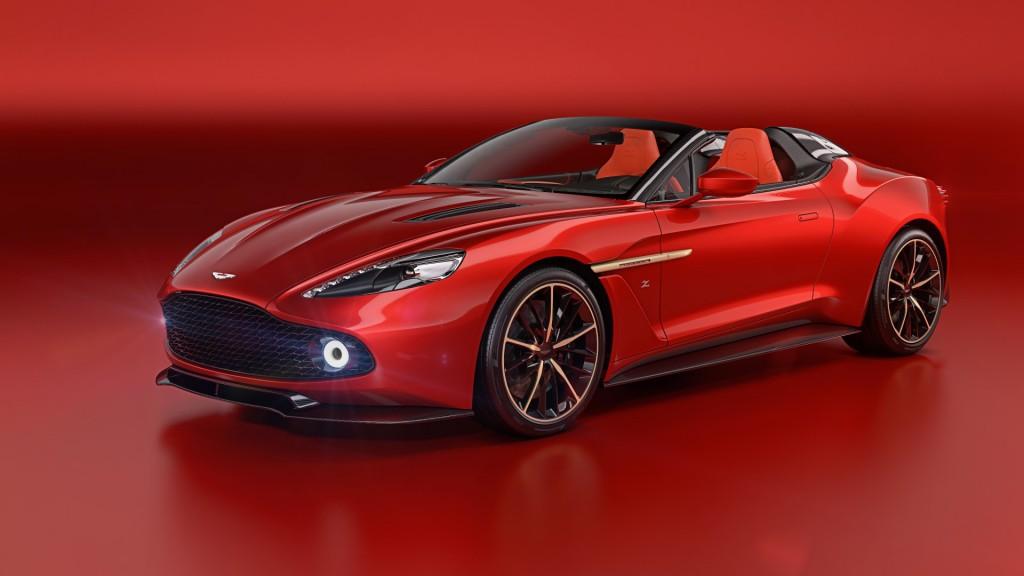 Aston Martin Vanquish Zagato Speedster - 01