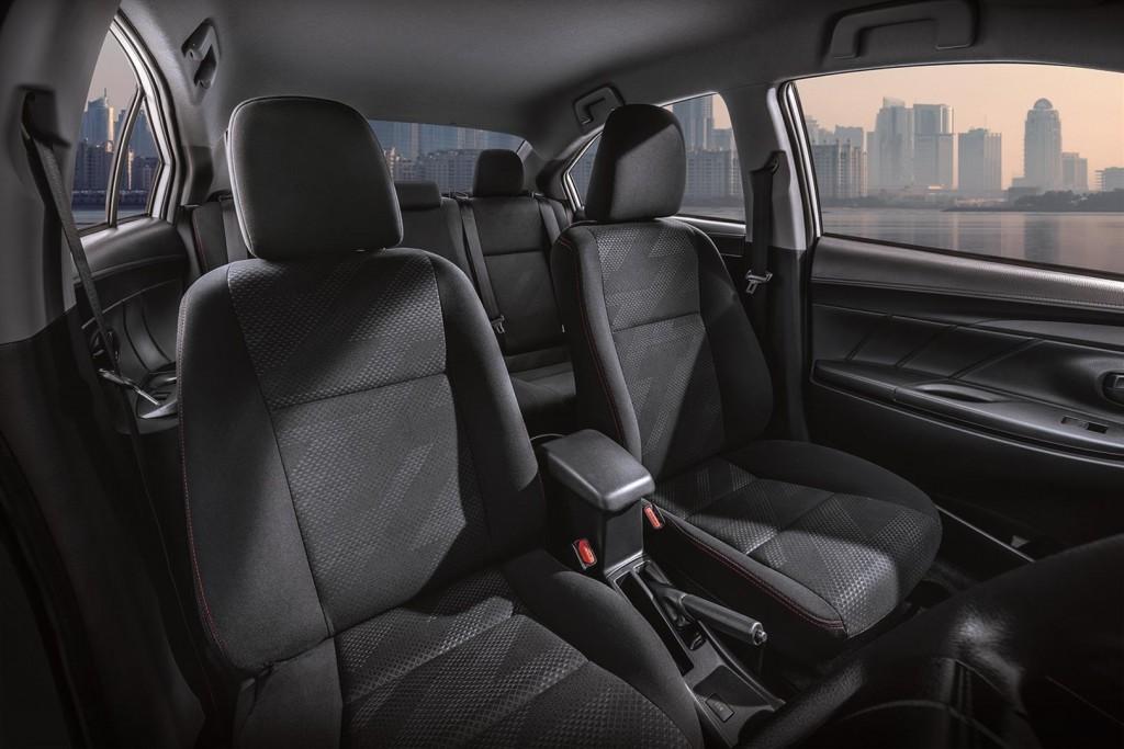 Toyota Vios Sports Edition - 06 TYT abric Seats