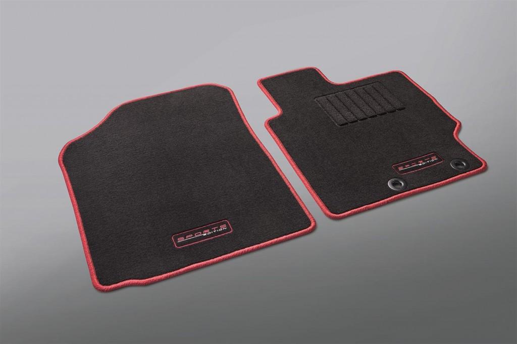Toyota Vios Sports Edition - 07 TYT Carpet Mat