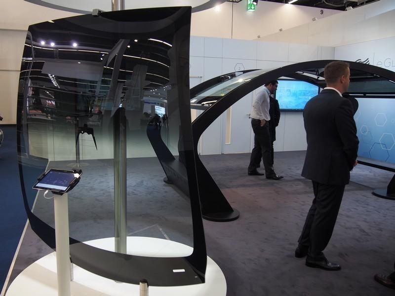 Advanced Tesla Model X and Model S windscreens hail from