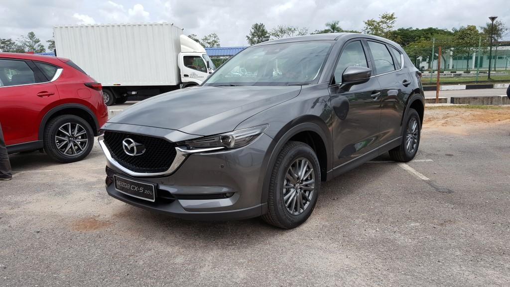2018 Mazda CX-5.