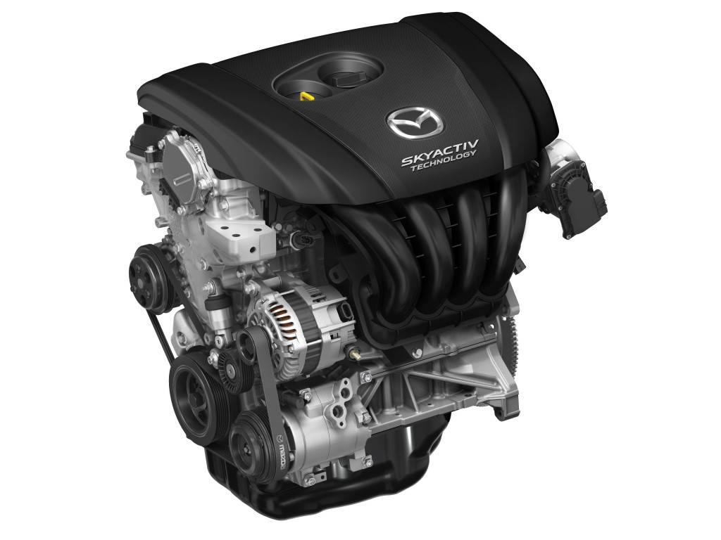 Mazda's SkyActiv engine.