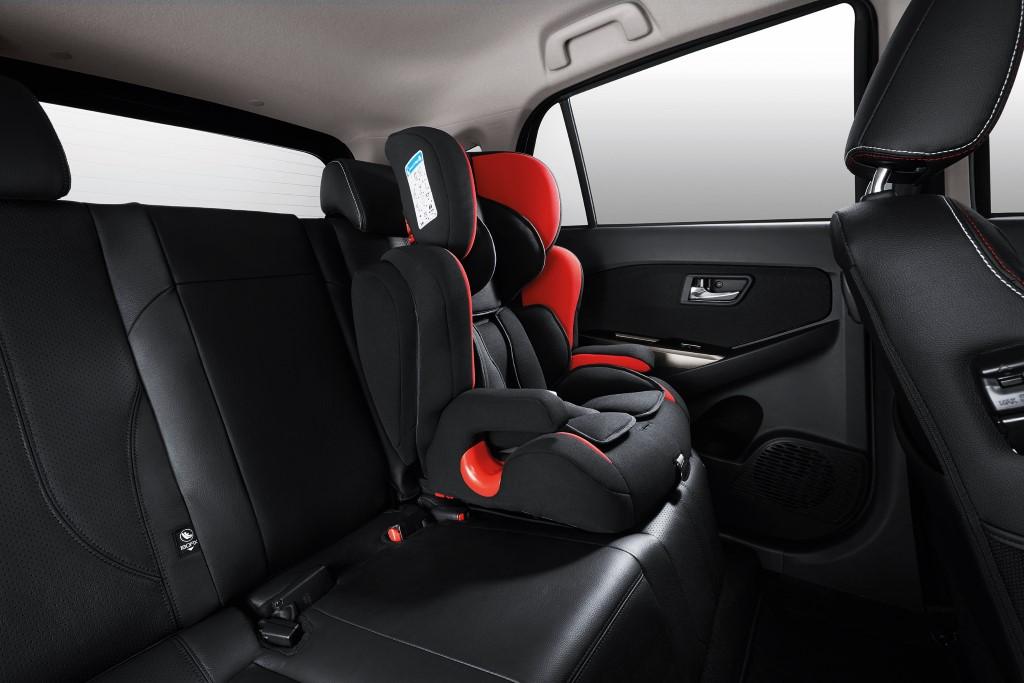ISOFIX System & GearUp Child Seat (Custom)