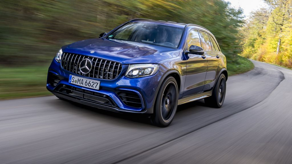 Mercedes-AMG GLC 63 S4Matic+ a small SUV with a huge V8