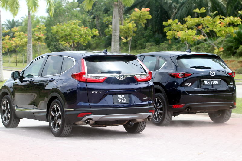 2017 Mazda CX-5 vs Honda CR-V (2)