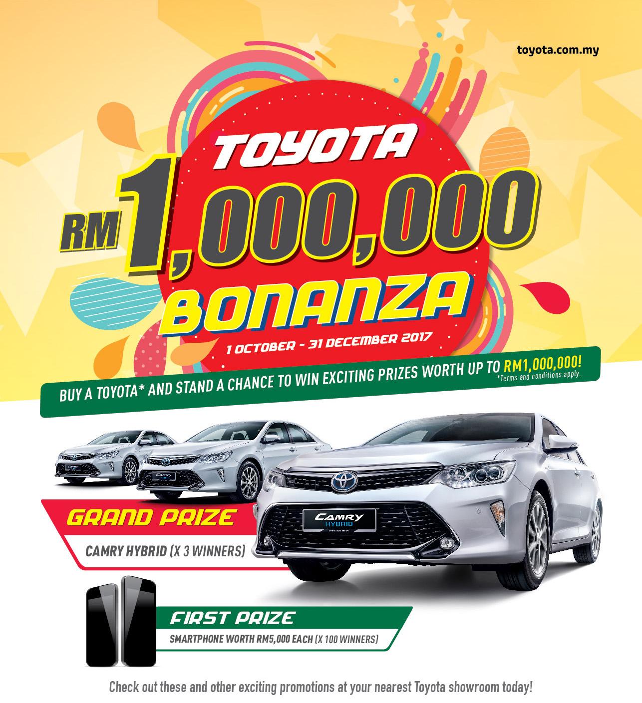 Toyota's New Year promotion | CarSifu