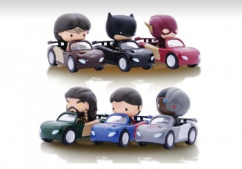 Justice League mini cars