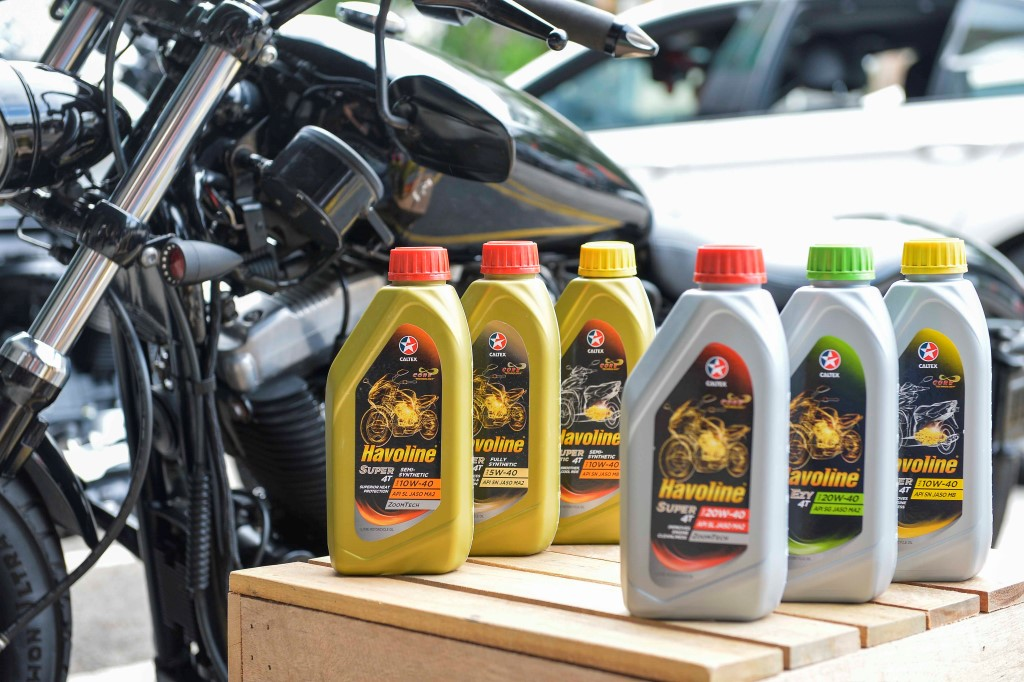 The new range of Caltex Havoline motorcycle oils for urban riders.