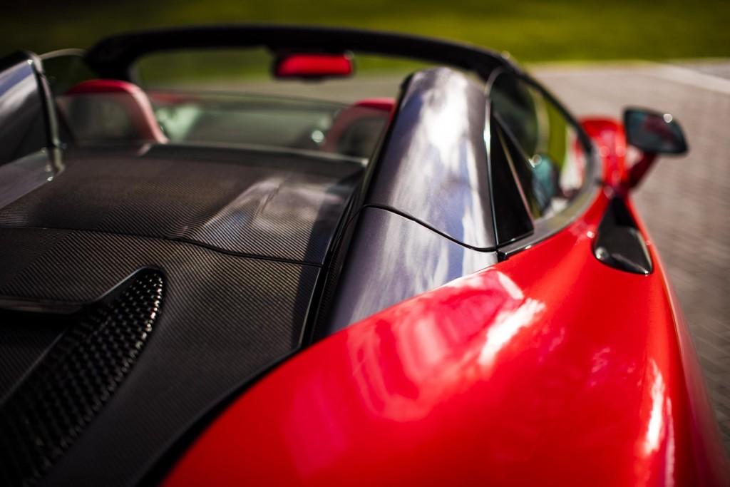 McLaren 570S Spider in Vermillion Red - 07