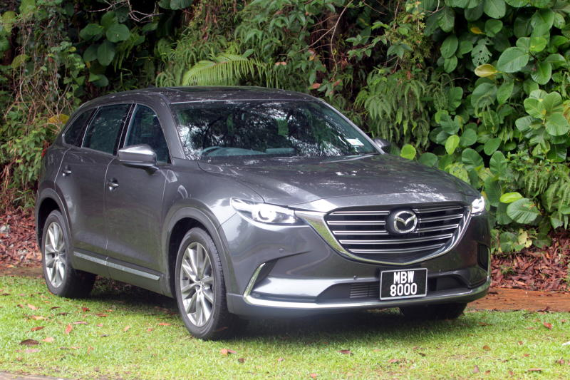 2018 Mazda CX-9 update: Apple CarPlay and Android Auto/360-degree