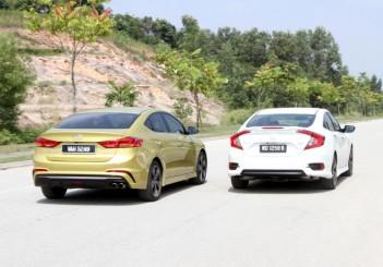 Hyundai Elantra Sport 1.6 and Honda Civic 1.5TC-P - 02